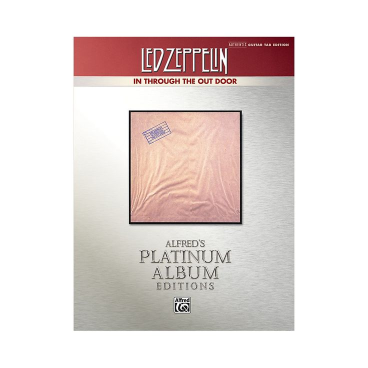 Alfred Led Zeppelin - In Through the Out Door Platinum Guitar TAB Book