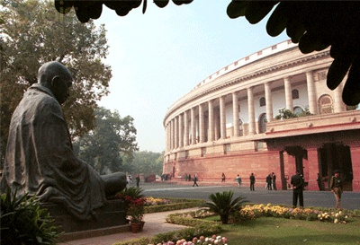 The Parliament of India is the supreme legislative body in India. It was founded in 1919. The Parliament alone possesses legislative supremacy and thereby ultimate power over all political bodies in India. The Parliament comprises the President of India and the two Houses—Lok Sabha (House of the People) and Rajya Sabha (Council of States). The President has the power to summon and prorogue either House of Parliament or to dissolve Lok Sabha.