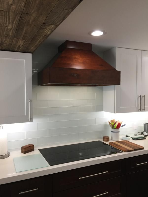 Copper Vent Hood With Straps Kitchen Range Hood Kitchen Hoods Copper Range Hood
