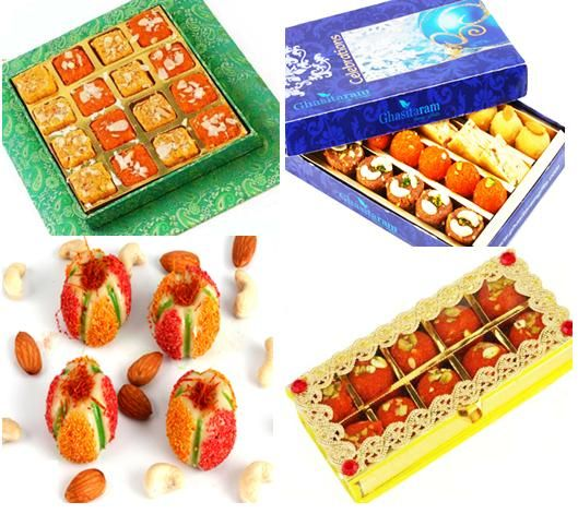 Buy Sweets online and send a surprising gift to your loved one in India on special occasions. http://www.ghasitaramgifts.com/c/all/sweets/