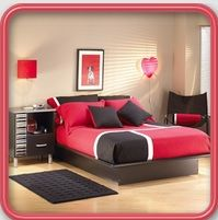 This Bedroom Designs n Decorations App   guide contains the various styles and colors of teenage bedroom painting & decorating such as:  - Teenage girl bedroom ideas - Teenage boy, for twins - pink, purple, green, white, blue, orange, yellow, colorful - wall art, painting, furniture, - modern, elegant, luxury, vintage, cute and more... https://play.google.com/apps/publish/?dev_acc=14994844138045677952#MarketListingPlace:p=com.wBedroomDesignsnDecorations
