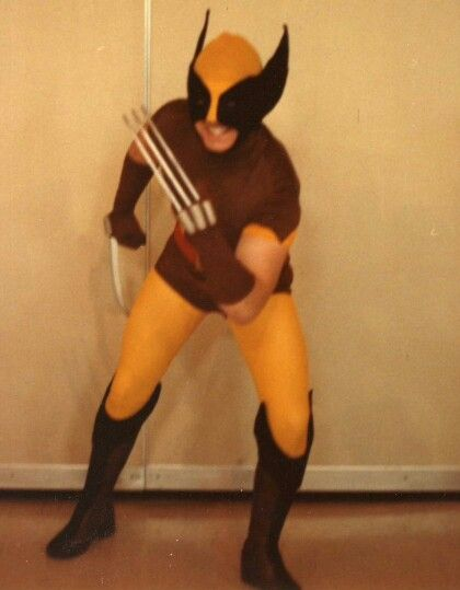 Myself as Wolverine 1981