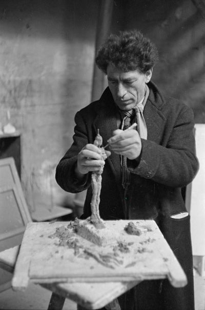 """""""...the object of art is not to reproduce reality, but to create a reality of the same intensity."""" Alberto Giacometti"""