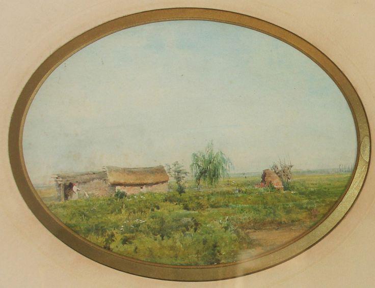 "JA - ""RANCHO EN LA PAMPA"" 1879"