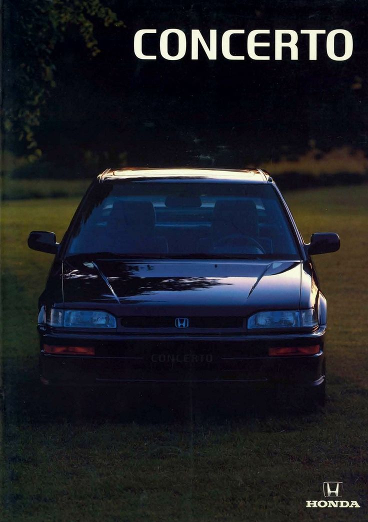 Car No.1 - Honda Concerto 1.6i