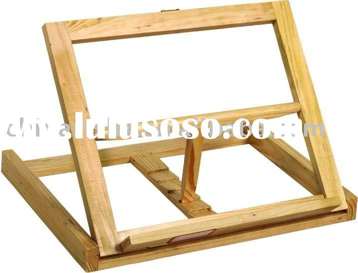 Elegant Wooden Tabletop Easel