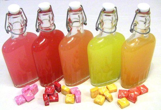 Starburst Vodka infusions