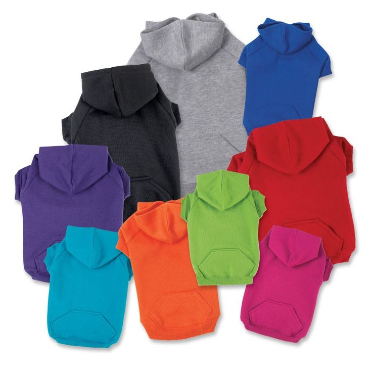 "Amazon.com : Zack & Zoey Basic Hoodie for Dogs, 20"" Large, Heather Gray : Pet Hoodies : Pet Supplies"
