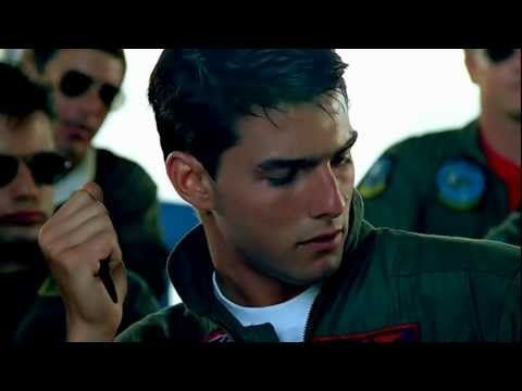 ▶ Berlin - Take My Breathe Away theme.  Top Gun - proving just how sexy eye contact can be. Love this film.