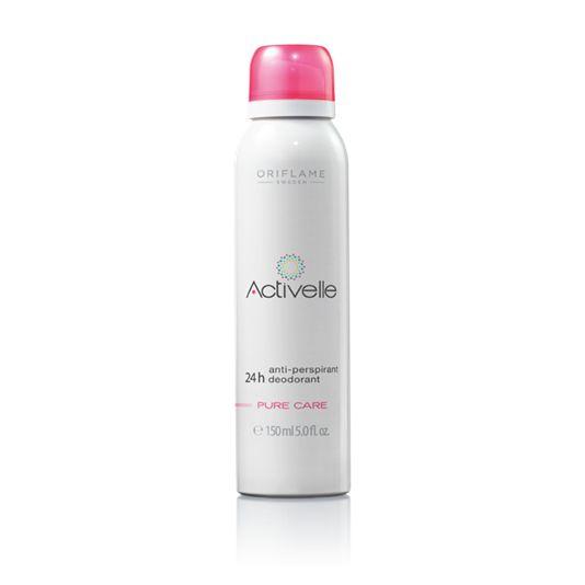 Antiperspirant deodorant ve spreji 24h Activelle Pure Care