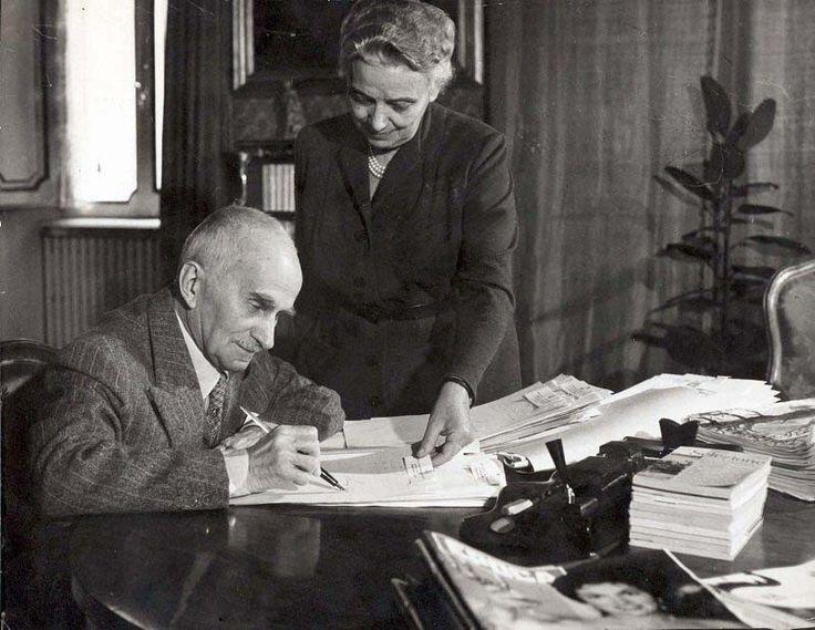 Luigi et Ida Einaudi