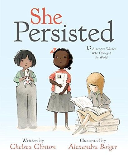 """""""A nonfiction picture book compilation of the stories of 13 American women who persisted in overcoming obstacles and changing the world""""--Provided by publisher."""