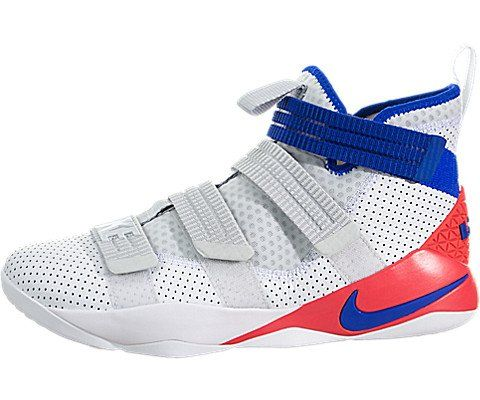 8a00df8804d7 NIKE Lebron Soldier IX Mens Basketball-Shoes 749417-084 11.5 - Black Blue  Lagoon Green Shock Hyper Orange