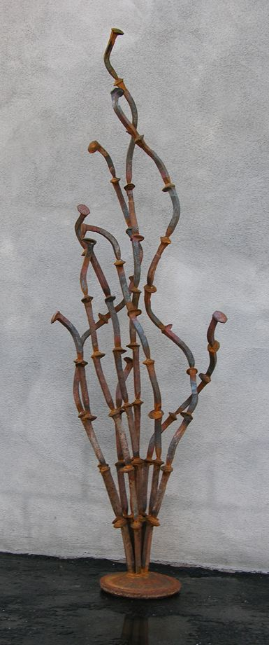 Oscillating Ocotillo, A Desert Plant Free-standing Sculpture - Kevin Caron