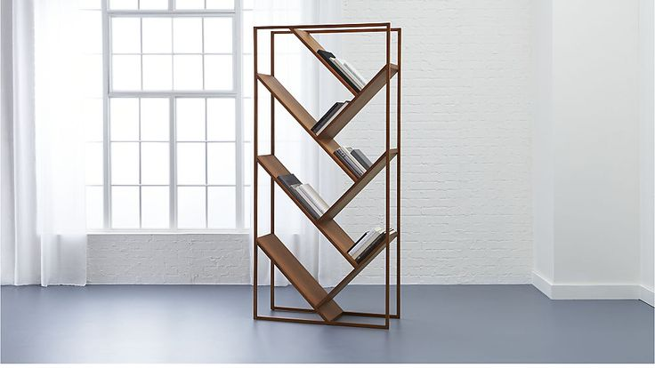 cb2 july bookcase room divider room dividers cb2 bookcase forward