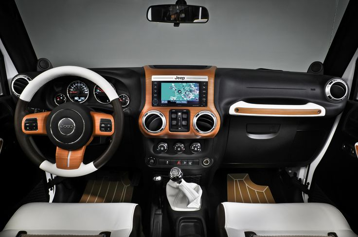 2014 White Jeep Wrangler Interior Design » TOP CARS LIST