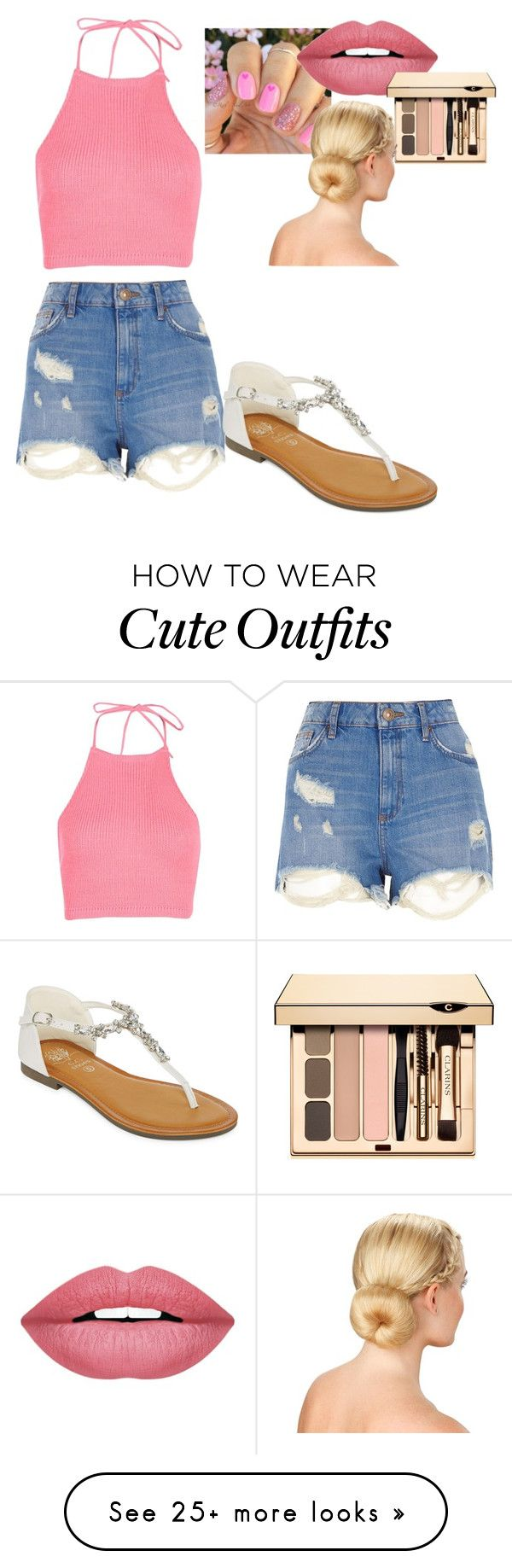 """Spring up"" by mixedgirl100 on Polyvore featuring Boohoo, River Island, GC Shoes and Forever 21"