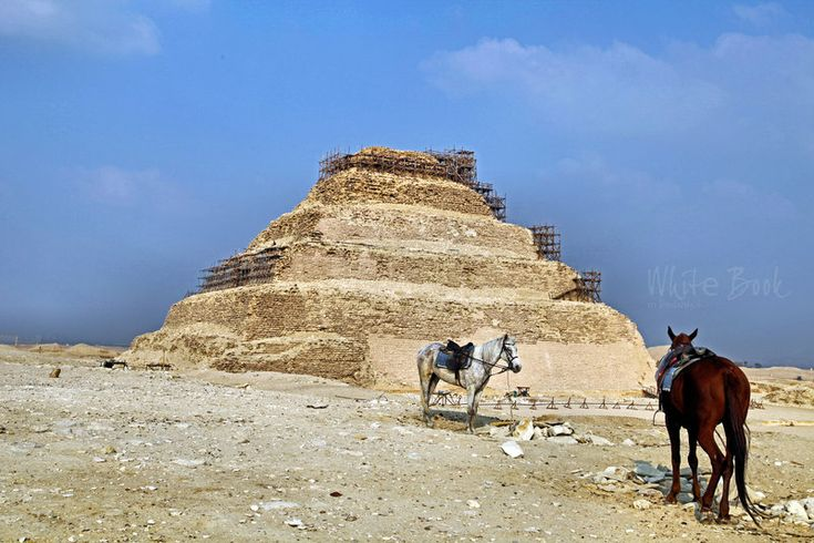 Step pyramid of Djoser in Saqqara by WhiteBook.deviantart.com on @DeviantArt