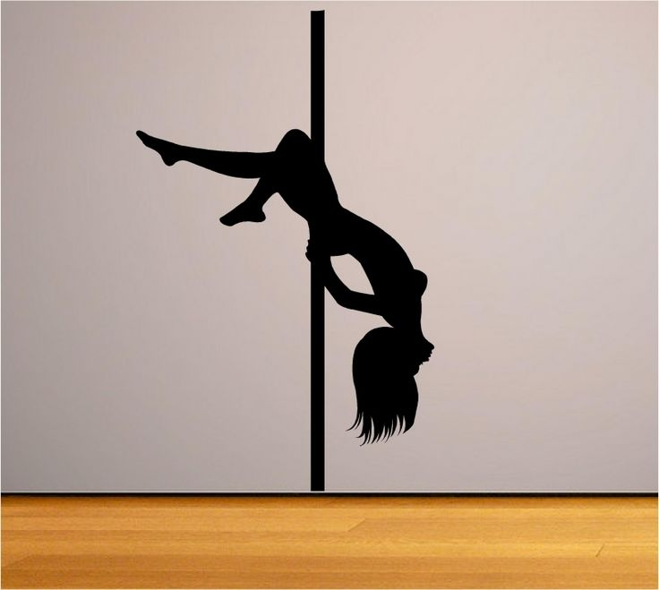 Sticker decorativ dansatoare la bara