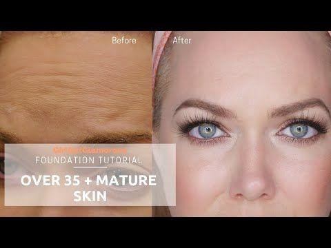 Best Foundation For Mature Skin 2020 Foundation Tutorial | Makeup | Foundation routine, Drugstore