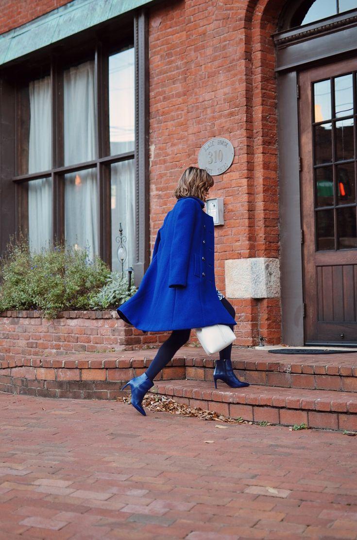 Cobalt Blue Street Style