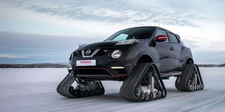 Freaky looking Nissan Juke Nismo RSnow