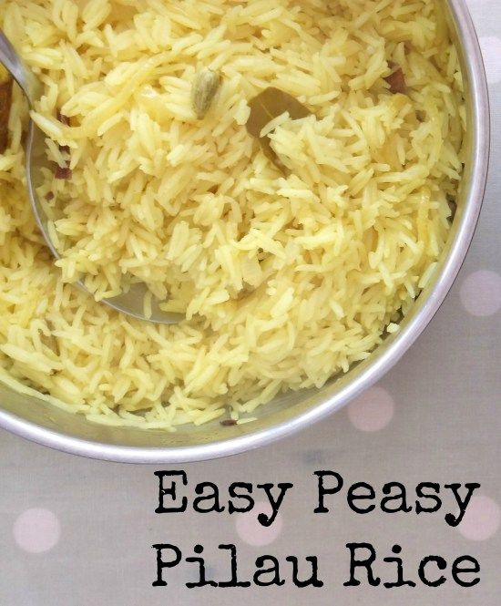 Easy Peasy Pilau Rice - Easy Peasy Foodie