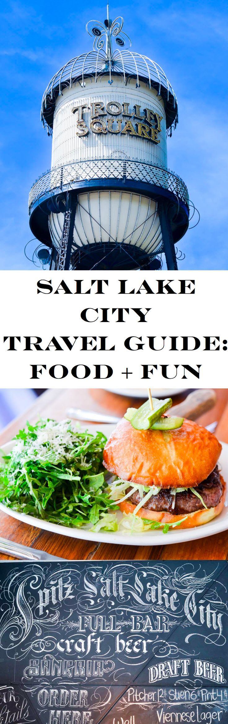 1 Day in Salt Lake City, Utah. What to do and where to eat, including coffee shops, breweries, and local favorites for delicious food! You Salt Lake City (SLC) Travel Guide + Things to Do!