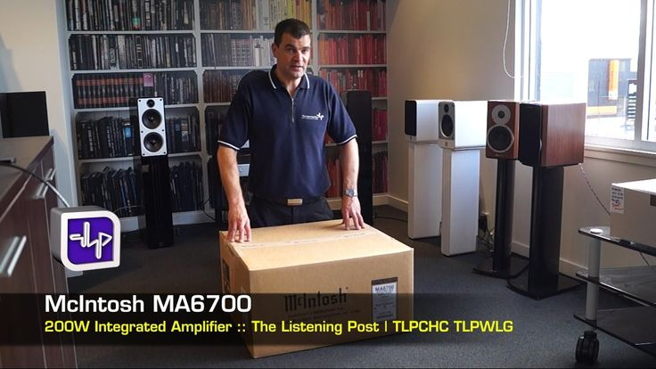 McIntosh MA6700 Integrated Amplifier unboxing, first look, The Listenining post | TLPCHC TLPWLG http://www.listeningpost.co.nz/Products/Amplifiers/Integrated...