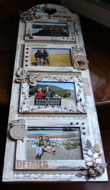 monochromatic picture frame
