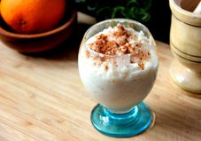 Coconut milk makes this classic dessert healthy and indulgent without breaking the calorie bank!