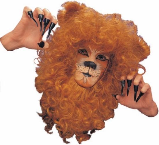 1b5c3a039 Mens Adult Cowardly Lion Face Mane Animal Costume Accessory | CL ...