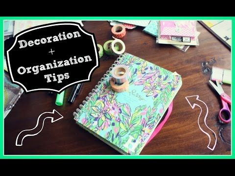 DIY Planner Supplies: Stickers, Paper Clilps, and Erin Condren Dashboard -  YouTube
