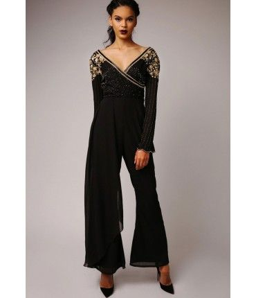 Virgos Lounge Candence Jumpsuit in Black