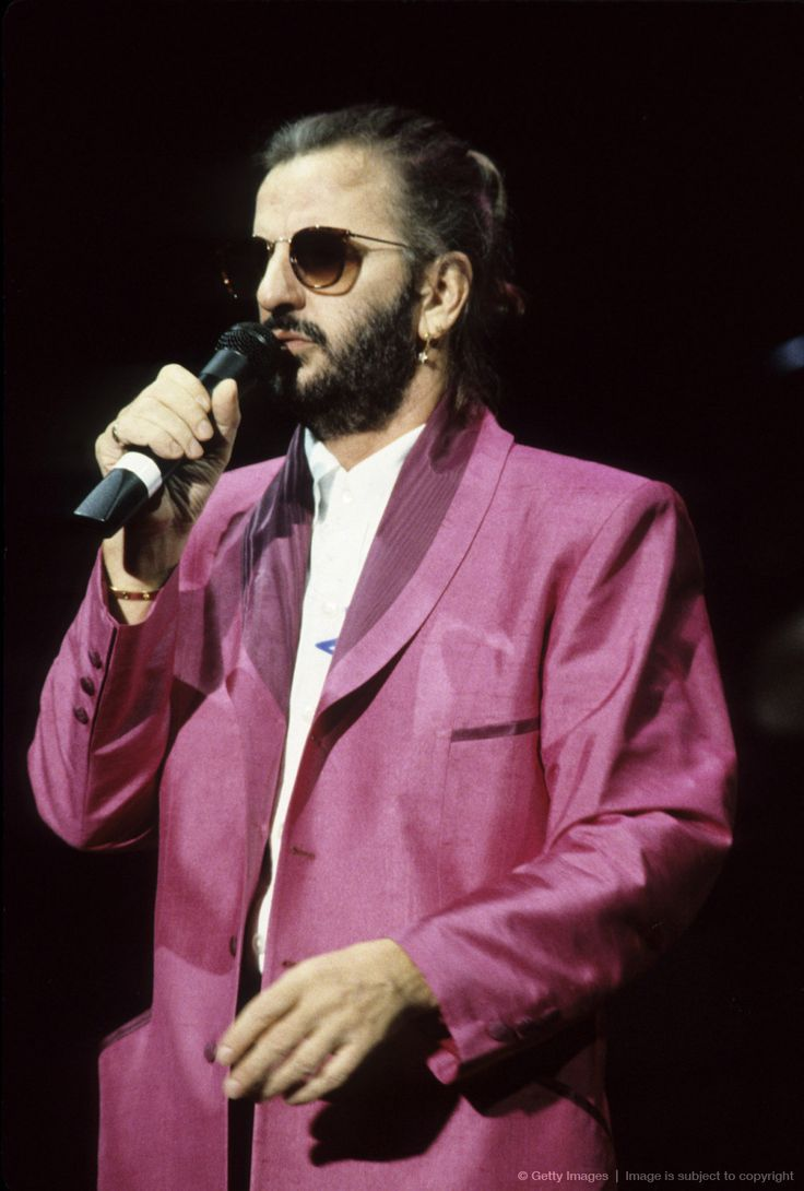 Ringo Starr and His All-Starr Band in Concert at Jones Beach Theater on June 22, 1989 in Wantagh, NY