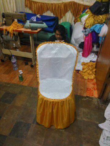 Menjual dan menerima pesanan pembuatan sarung kursi futura,sarung kursi plastik,cover meja,alas meja,rumbai tenda dan dekorasi tenda yang lainnya. Wa 0813-1717-1058,BBM 5bacf321 penjahitgroup@gmail.com,www.penjahitgroup.com