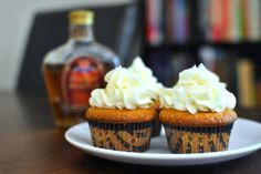 Crown Royal Maple Cupcakes
