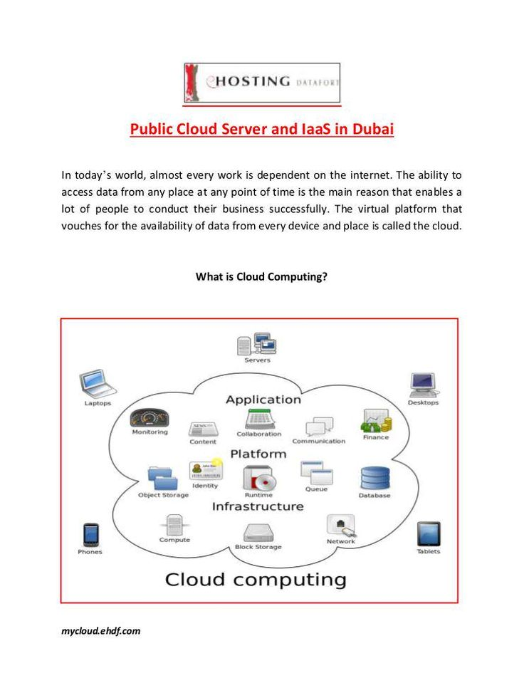 eHosting DataFort is one of the leading public cloud server providers in Dubai. A public cloud is based on the standard cloud computing model. In this, a service provider makes resources like the storage and application available to the public over the internet. For more info visit: https://mycloud.ehdf.com/.