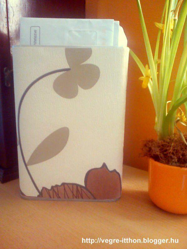 Egy kakaós doboz újjászületése… :-) | Végre itthon