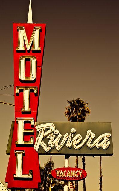 Riviera Motel    410 W. Katella Ave., Anaheim CA.
