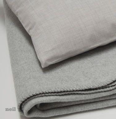 Earthsake Area Neil Cotton Travel Blanket Pillow Set In Bag