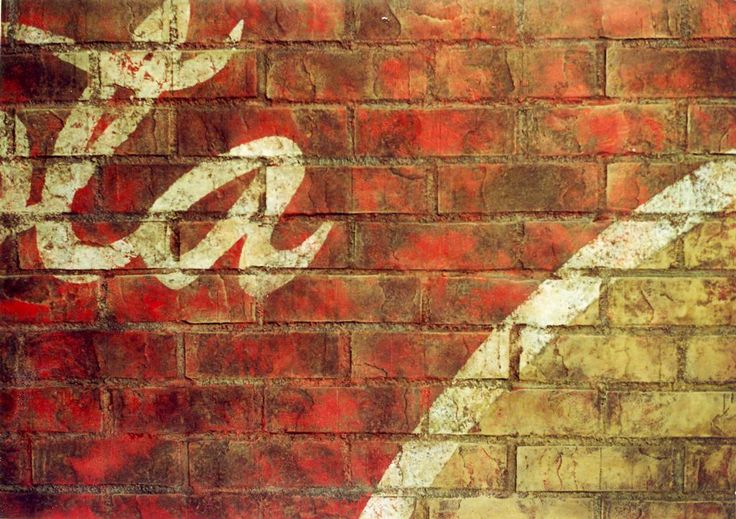 Painted Brick Wall Beta Sig Room Pinterest