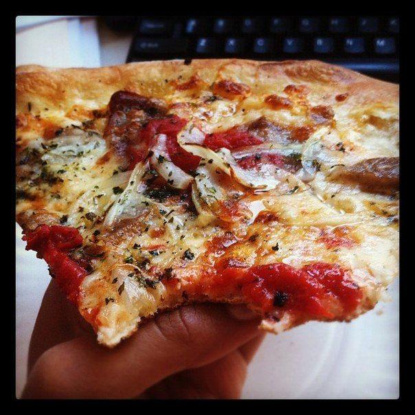 Пицца на сковороде за 10 минут. | Женский журнал