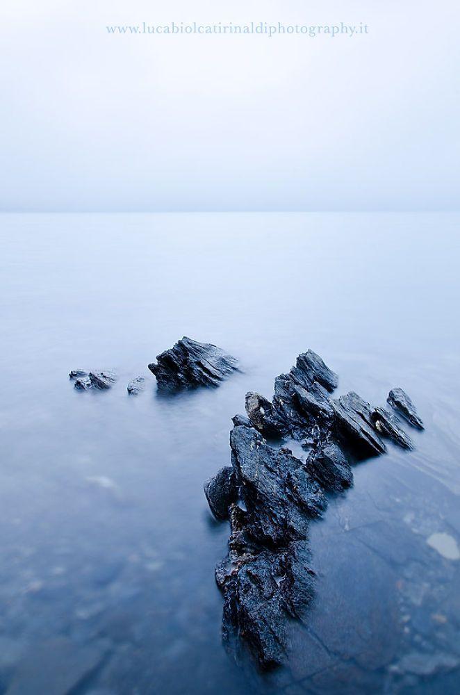 In the fog by Luca Biolcati Rinaldi