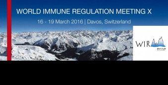 다보스 세계 면역조절 학회의 WIRM 2016 World Immune Regulation Meeting