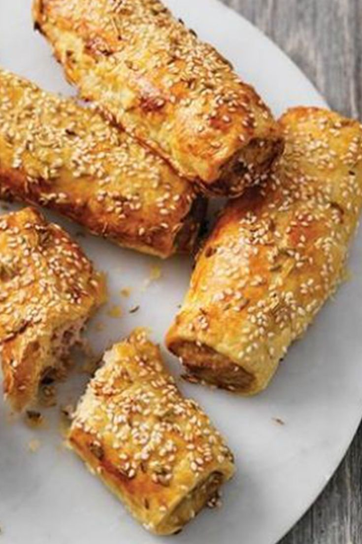 Roll up! These Pork and Fennel Sausage Rolls are very, very delicious!