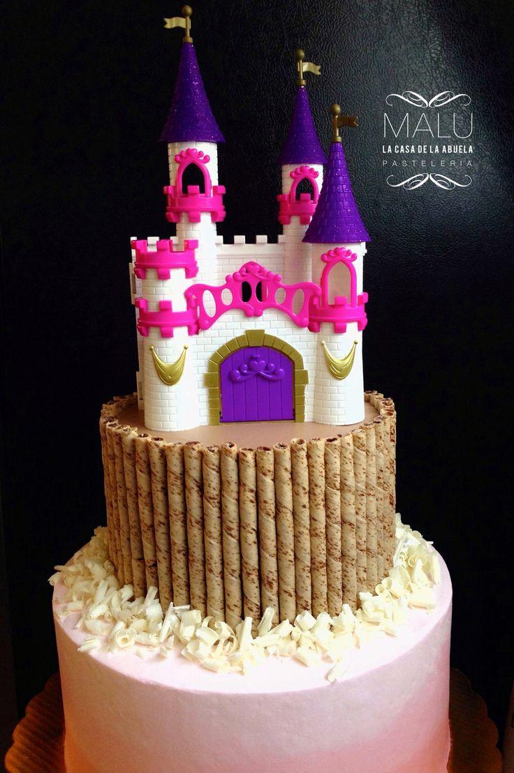 Rapunzel pink Cake
