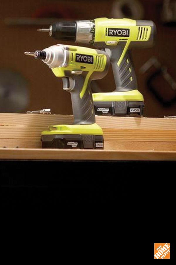 This RYOBI 18V ONE+ kit is a must-have addition to any dad's tool kit. Shop #FathersDay gifts at homedepot.ca: http://hdepot.ca/2qDqQPD