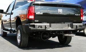 Fab Fours - Fab Fours DR09-W2950-1 Rear Bumper Dodge 2500/3500 2010-2014