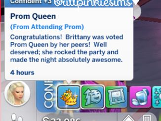 Sims 4 Prom Mod: Adds new event, whims, comes with venue and everything, and you can invite up to *40* teens (whether your sim knows them or not!)